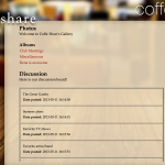 "Coffee Hour - Final Prototype ""Share"""