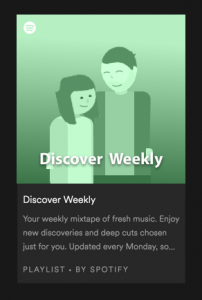 Spotify Discover Weekly